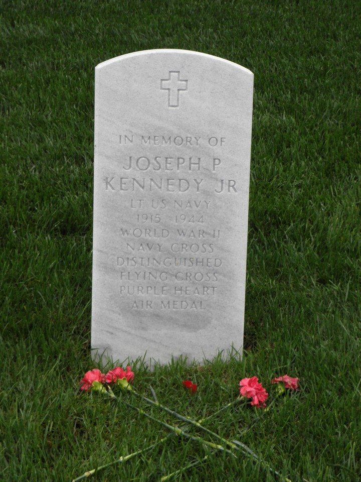 Arlington National Cemetery Joseph P Kennedy Jr Saint